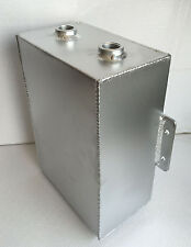 "ALLOY ALUMINUM COOLANT OVERFLOW RECOVERY CATCH TANK RESERVOIR 9-1/4"" X6-3/4"" X4"""