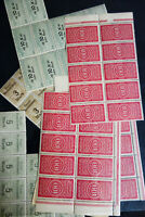 Worldwide Mint Revenue Stamps Giant Early Hoard of 1,300