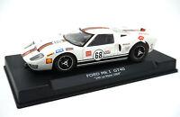 NSR 0041SW Ford GT40 MKI #68 24h Le Mans 1969 SW Shark 20K 1/32 Slot Car