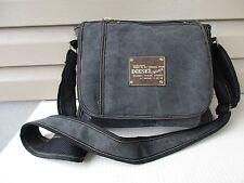 Diesel Men's Denim Messenger Shoulder Bag MINT