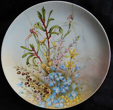 Assiette Porcelaine Allemande THOMAS GERMANY WILDFLOWERS FROM WEST AUSTRALIA