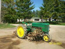 1939 John Deere H Antique Tractor No Reserve Full Cultivators Pto farmall allis
