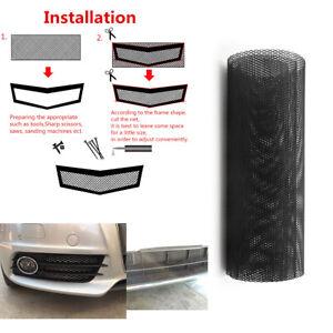 40''x13'' DIY Racing Grills Universal Car Cuttable Front Bumper Honey Comb Mesh