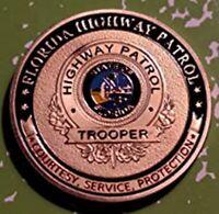 Florida State Patrol Law Enforcement Challenge Coin