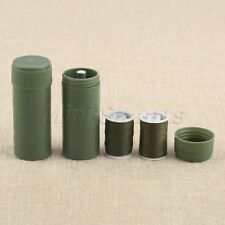 3 in 1 Portable Mini Travel Household Sewing Kit Tube Needles Spools 6.7*2.5cm
