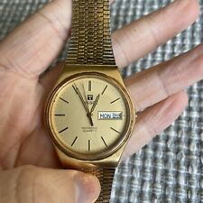 Tissot Seastar Swiss Made Mens Quartz Watch Whith Day And Date Repair Parts