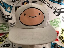 Adventure Time Cute Jake & Finn White Snapback Baseball Cap Hat Cartoon Network