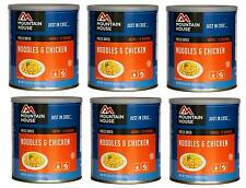 6 - Cans - Noodles & Chicken - Mountain House Freeze Dried Emergency Food Supply