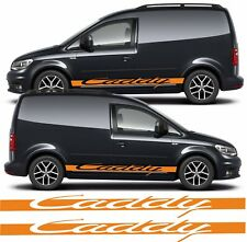 VW Volkswagen Caddy Side Stripes Graphics Decals Stickers Vinyls any colours
