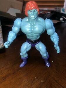 FAKER 1981 Rubber Head Masters of the Universe vintage figure he-man READ