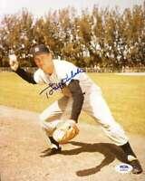 Tony Kubek PSA DNA Coa Hand Signed 8x10 Photo Autograph