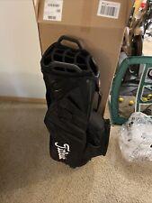 Titleist Cart 14 Lightweight Golf Cart Bag - Black