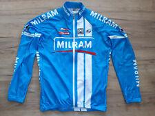 MILRAM SANTINI! CYCLING bike shirt trikot maglia camiseta! 5,5/6 ! 3XL - size#
