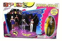 1998 Spice Girls Dolls Super Stage w/Sporty Spice Figure by ToyMax Limited Ed.