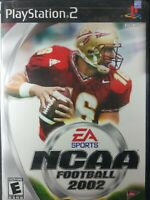 NCAA Football 2002 (Sony PlayStation 2, 2001) PS2 CIB Complete