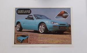 Minari Road Sport Advert from 1996 - Original Ad Advertisement Kit Car