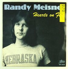 """7"""" Single - Randy Meisner - Hearts On Fire - S1361 - washed & cleaned"""