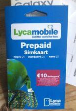 Einsatzbereit: Lycamobile NL Prepaid Sim Karte ohne Registrierung – Plug & Play