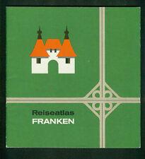 Viaggio Atlas Franchi foto carte città informazioni 1965 cartografia h. Re