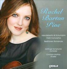 Mendelssohn & Schumann: Violin Concertos; Beethoven Romances, Rachel Barton Pine