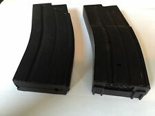 D94S Airsoft Magazine Clip Both High Cap 150 Rd + Mid Cap 50 Rd Replica Blk Mag