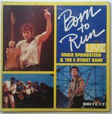 Bruce Springsteen & The E Street Band Born To Run Live Cd-Sgl UK 1987