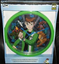 OROLOGIO DA PARETE/WALL CLOCK-BEN 10 BEN10  huntik,max steel,alien force,gormiti