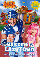 LazyTown: Welcome To LazyTown  PBS Kids Dvd New Sealed