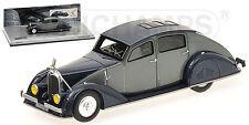 "Voisin C25 Aerodyne ""Grey/Dark Blue"" 1934 (Minichamps 1:43 / 400112372)"