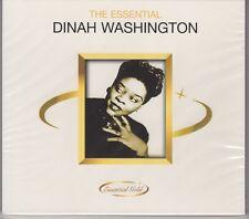 "Dinah Washington ""The Essential"" NEW & SEALED CD - 20 Tracks - 1st Class Post UK"