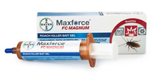 1 Tube of Maxforce FC Magnum Roach Killer Bait Gel w/Plunger and Tip