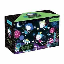 Mudpuppy Fairies Glow in The Dark Puzzle 100 Piece