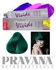 1 Haartönung PRAVANA CHROMA SILK Vivids 90ml Tube GREEN GRÜN Naturnah Haarfarbe