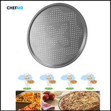 """11.8"""" ventilé pizza plaque de cuisson chef aid 30CM pan revêtement antiadhésif grille d'aération trous"""