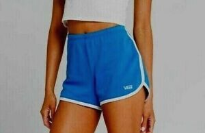 VANS Sassed II Shorts Royal Blue Dolphin Style Women's New