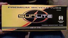 Set of 2-Sunlite 18 x 1.75 Thorn Resistant Inner Tube