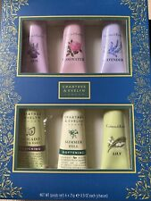 Crabtree & Evelyn Hand Therapy Collection Gift Box Set (6) NEW