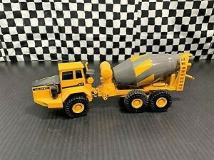 Joal Volvo BM A-35 Articulated Cement Mixer - Yellow/Grey - 1:50 Diecast Boxed