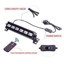 6 LED UV Bar 18W LED Black Light Effect Wash Wall Light DJ Stage Light w/Control