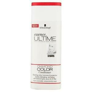 2 x Schwarzkopf Essence Ultime Diamond Colour Conditioner 250ml Each Highlighted