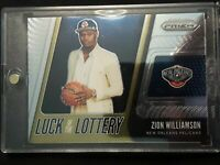 2019-20 Panini Prizm #1 Zion Williamson Luck of the Lottery Rookie RC Gem Mint ?