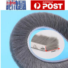 5 Meter Draught Excluder Brush Window Door Seal Tape Self-adhesive Home Decor