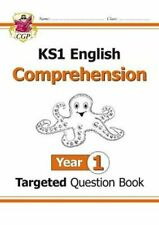 KS1 English Targeted Question Book: Comprehension - Year 1 9781782947585