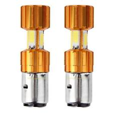 1 Pair DC 12V H6 BA20D 30W COB LED Motorcycle Motorbike Headlight Bulb Headlamp