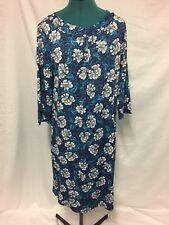 Millers Shift dress Blue with White flowers see measurements