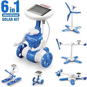 CIRO Solar Robot Science Kit Educational Toys for Kids Beginners, STEM Learning