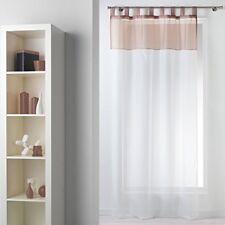 Rideaux et cantonnières blancs pour la maison 140 cm