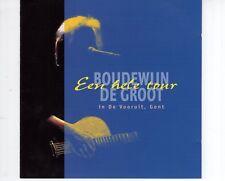 CD BOUDEWIJN DE GROOTeen hele tour - in de vooruit GentVG++ (B1941)