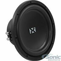 """NVX NSW104V2 10"""" Inches Dual 4-Ohm N-Series V2 Car Audio Subwoofer Open Box"""