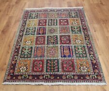 Traditional Vintage Wool Handmade Classic Oriental Area Rug Carpet 155 X 100 cm